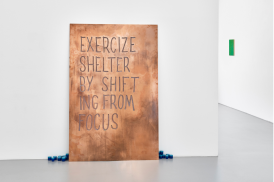 Navid Nuur, Untitled (Exercize shelter by shifting from focus), 2013