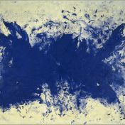 Yves Klein, <i>Grande Anthropophagie bleue, Hommage à Tennessee Williams, (ANT 76)</i>, 1960