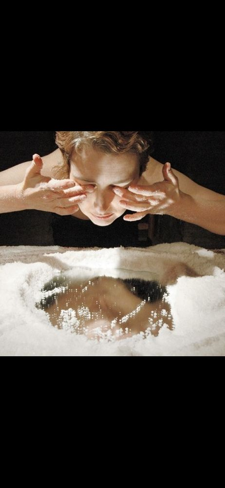 Fiona Wright, Salt Drawing © Photo Ana Rita Rodrigues, 2006