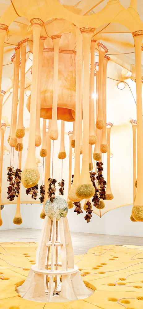 Ernesto Neto, Flower Crystal Power, 2014