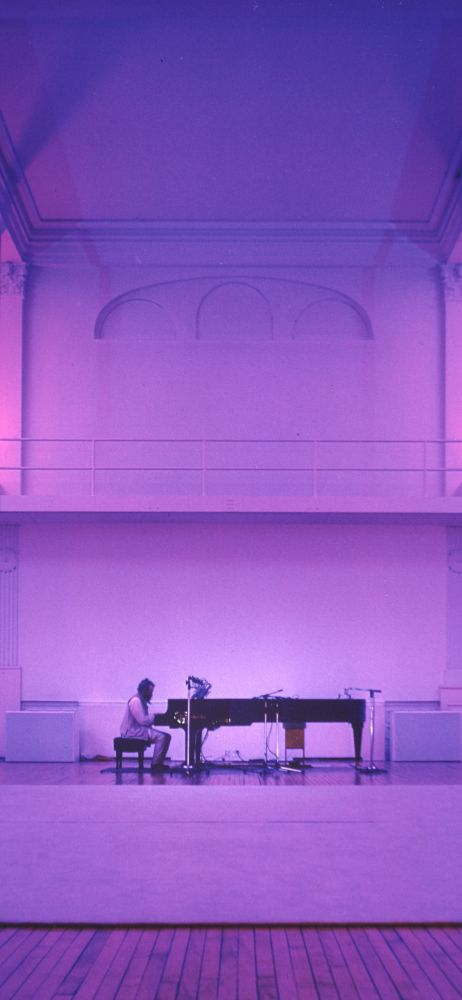 La Monte Young  Marian Zazeela, The Well-Tuned Piano in The Magenta Lights, New York, Photo: John Cliett. Copyright © La Monte Young, Marian Zazeela 1981, 2018
