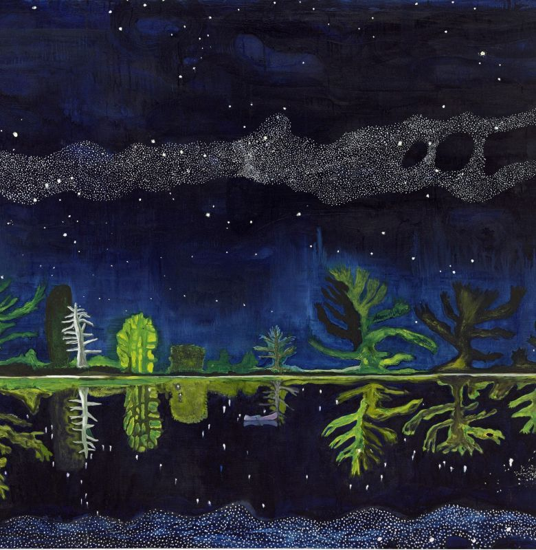 Peter Doig Milky Way 1989-90