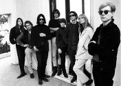 Andy Warhol and the Velvet Underground, Los Angeles, 1966 © Steve Schapiro