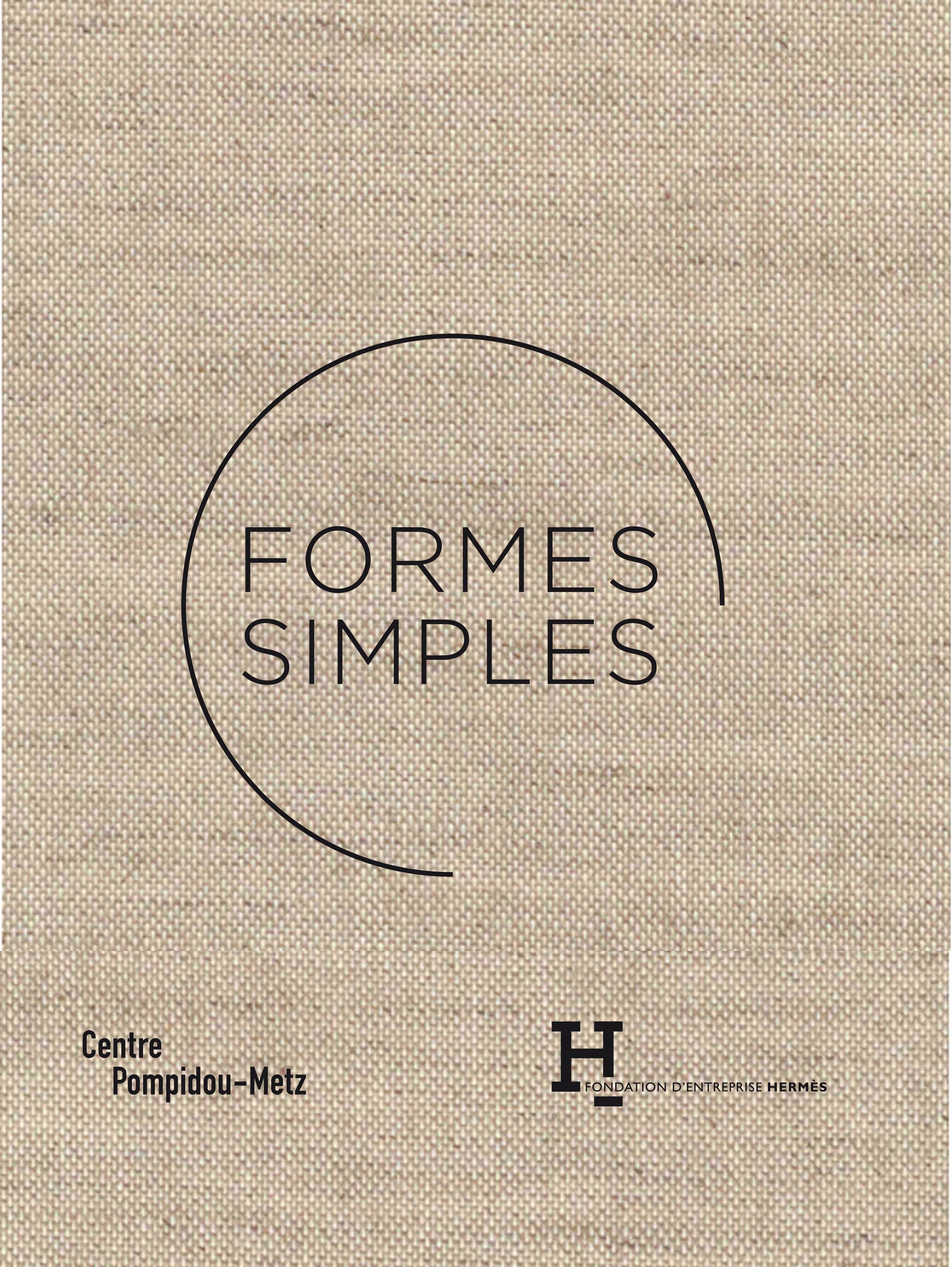 Couverture du catalogue Formes simples